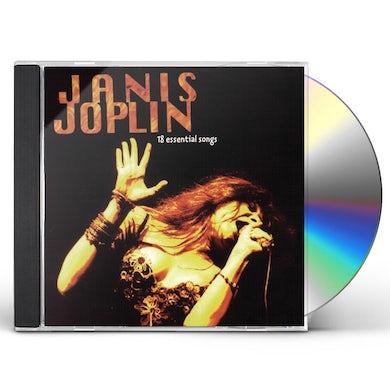 Janis Joplin 18 Essential Songs CD