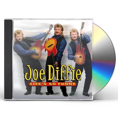 Joe Diffie LIFE'S SO FUNNY CD