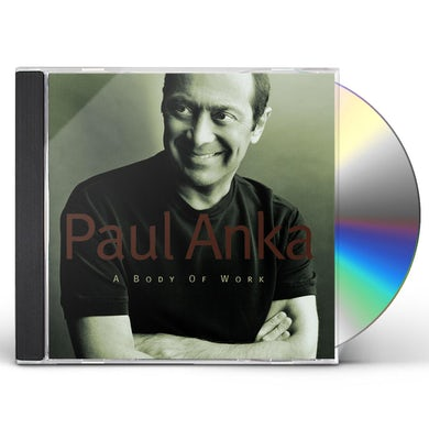 Paul Anka BODY OF WORK CD