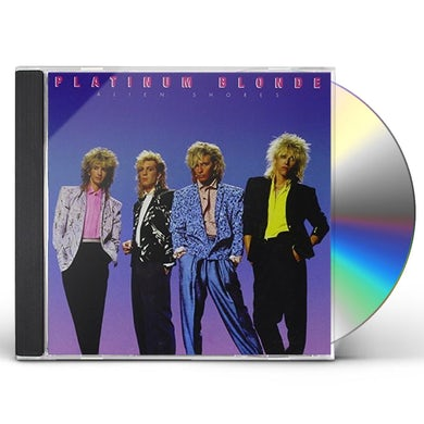 Platinum Blonde ALIEN SHORES CD