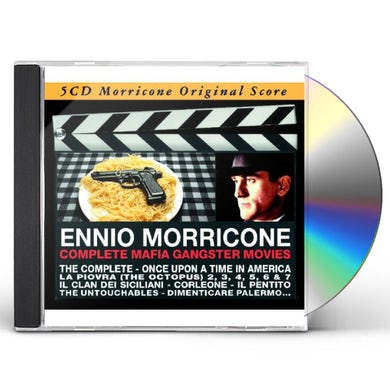 Ennio Morricone COMPLETE MAFIA GANGSTER MOVIES CD
