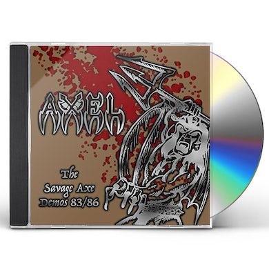 Axel SAVAGE AXE DEMOS 83/86 CD