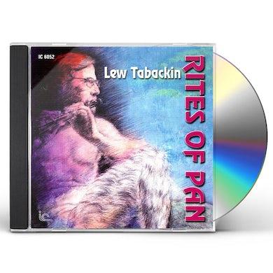 Lew Tabackin RITES OF PAN CD
