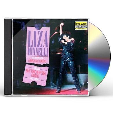 LIZA MINNELLI AT CARNEGIE HALL HIGHLIGHTS CD