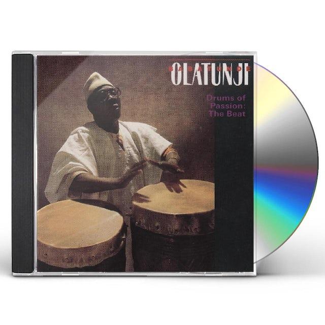 Babatunde Olatunji DRUMS OF PASSION: THE BEAT CD