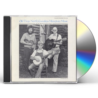 David Johnson OLD TIME NORTH CAROLINA MOUNTAIN MUSIC CD