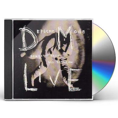 Depeche Mode SONGS OF FAITH LIVE CD