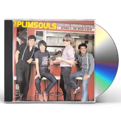 Plimsouls LIVE BEG BORROW & STEAL: OCTOBER 31 1981 WHISKEY CD