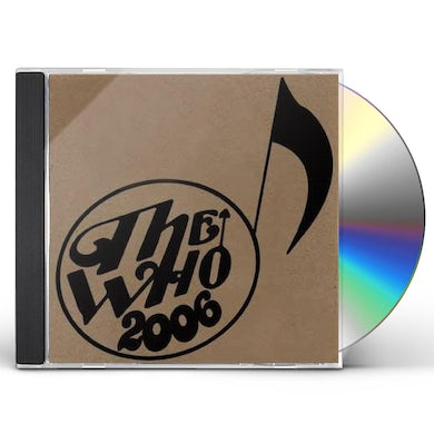 The Who LIVE: SALT LAKE CITY UT 11/13/06 CD