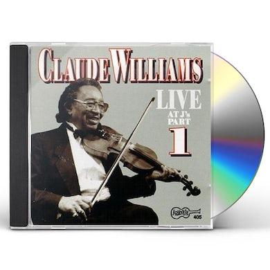 Claude Williams LIVE AT J'S 1 CD