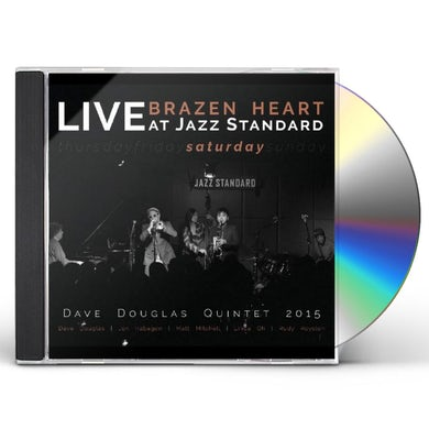 Dave Douglas BRAZEN HEART LIVE AT JAZZ STANDARD - SATURDAY CD