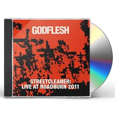 Godflesh STREETCLEANER: LIVE AT ROAD 2011 CD