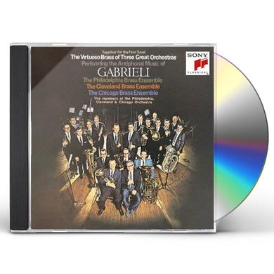 Classic ANTIPHONAL MUSIC OF GABRIEL CD