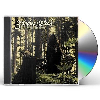 3 Inches Of Blood HERE WAITS THY DOOM CD