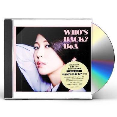 BoA WHO'S BACK: DELUXE CD