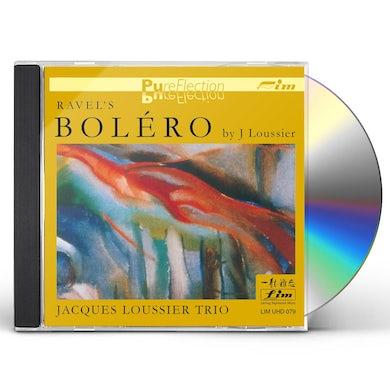 Jacques Loussier Trio RAVEL'S BOLERO CD