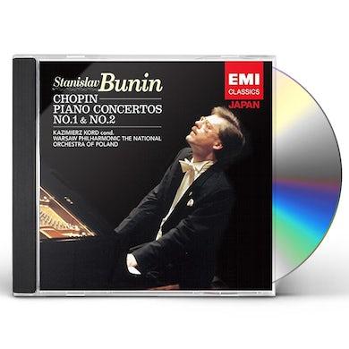 Stanislav Bunin CHOPIN: PIANO CONCERTOS NOS.1 & 2 CD