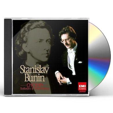 Stanislav Bunin CHOPIN: BALLADES & IMPROMPTUS CD