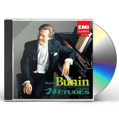 Stanislav Bunin CHOPIN : ETUDES OP.12 & OP.25 CD