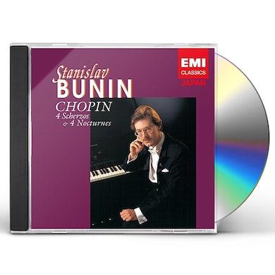 Stanislav Bunin CHOPIN: 4 SCHERZOS & 4 NOCTURNES CD