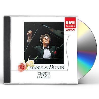 Stanislav Bunin CHOPIN: 14 VALSES CD