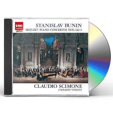 Stanislav Bunin MOZART: PIANO CONCERTOS NOS.12 & 13 CD