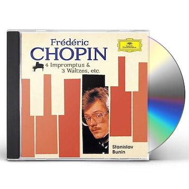 Stanislav Bunin CHOPIN: FAVORITE PIANO WORKS CD