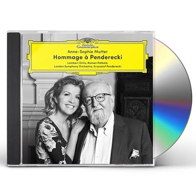 Anne-Sophie Mutter HOMMAGE A PENDERECKI CD