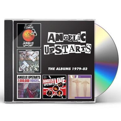 Angelic Upstarts ALBUMS 1979-1982 CD