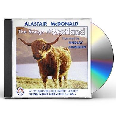 Alastair McDonald SONGS OF SCOTLAND CD