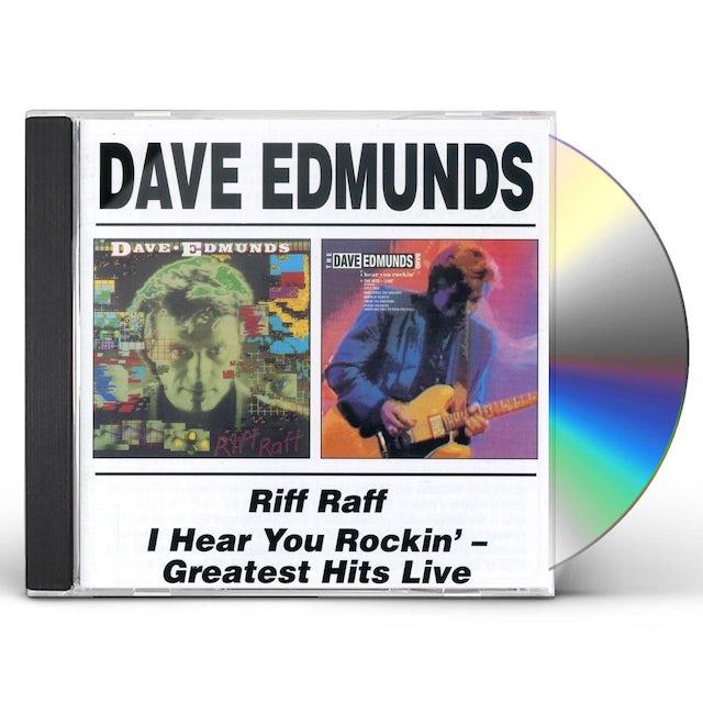Dave Edmunds RIFF RAFF / I HEAR YOU ROCKIN CD