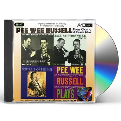 Pee Wee Russell FOUR CLASSIC ALBUMS CD