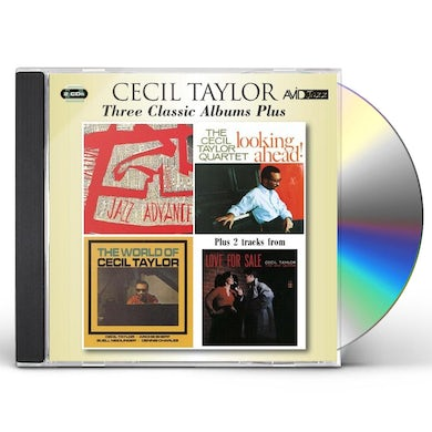 Cecil Taylor THREE CLASSIC ALBUMS PLUS CD