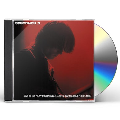 Spacemen 3 LIVE AT THE NEW MORNING GENEVA SWITZERLAND CD
