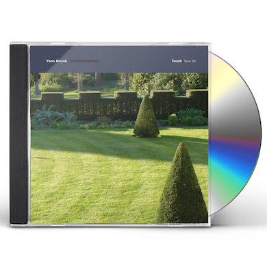 Yann Novak ORNAMENTATION CD