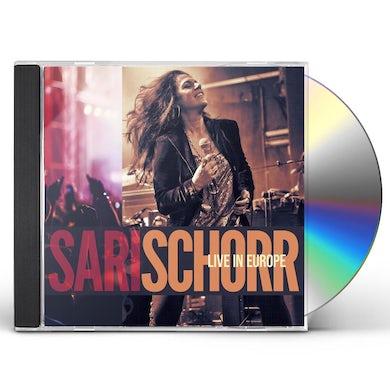 Sari Schorr LIVE IN EUROPE CD