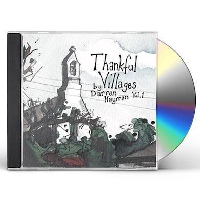 Darren Hayman THANKFUL VILLAGERS VOL 1 CD