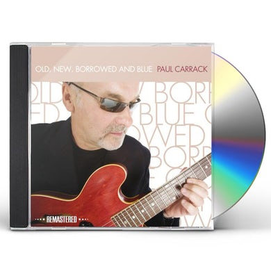 Paul Carrack OLD NEW BORROWED & BLUE CD