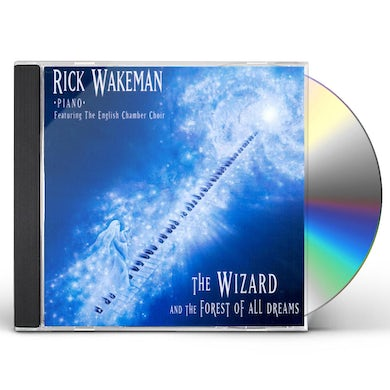 Rick Wakeman WIZARD & THE FOREST OF ALL DREAMS CD