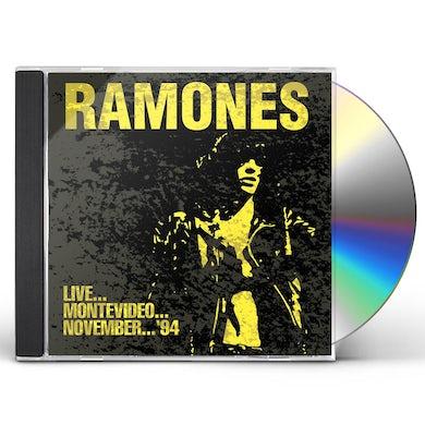 Ramones LIVE... MONTEVIDEO... NOVEMBER... 94 CD