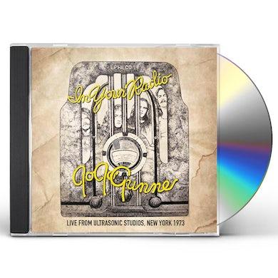 Jo Jo Gunne IN YOUR RADIO: LIVE FROM ULTRASONIC STUDIOS NEW CD