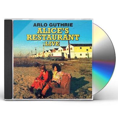 Arlo Guthrie ALICE'S RESTAURANT LIVE CD