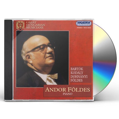 Andor Foldes GREAT HUNGARIAN MUSICIANS CD