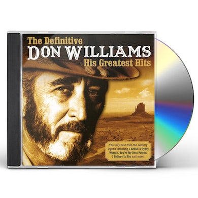 Don Williams DEFINITIVE CD