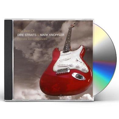 Dire Straits & Mark Knopfler PRIVATE INVESTIGATIONS CD