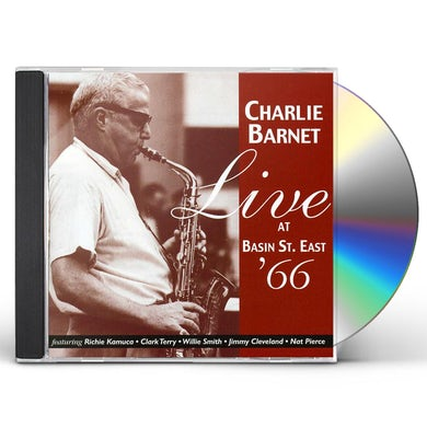Charlie Barnet LIVE AT BASIN STREET EAST CD