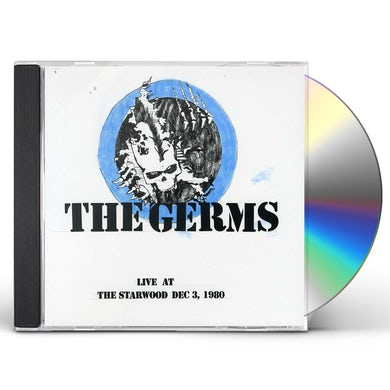 Germs LIVE AT THE STARWOOD CD