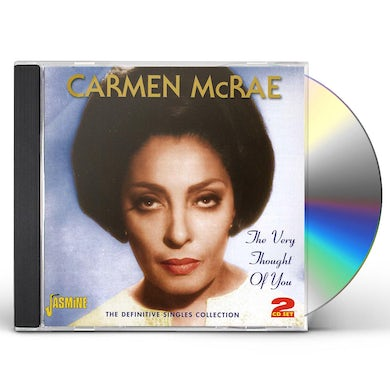 Carmen McRae VERY THOUGHT OF YOU: DEFINITIVE SINGLES COLLECTION CD