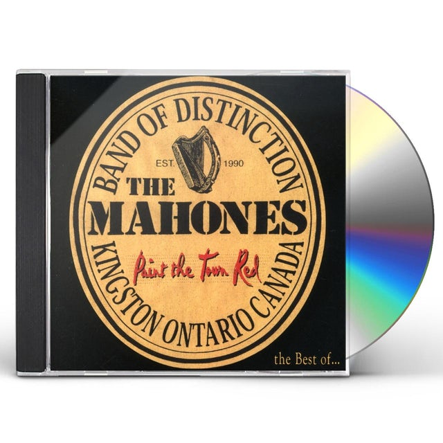 MAHONES PAINT THE TOWN RED CD