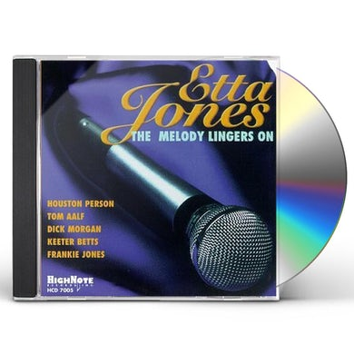 Etta Jones MELODY LINGERS ON CD